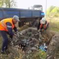 Акция Сделаем, работники железнодорожной станции
